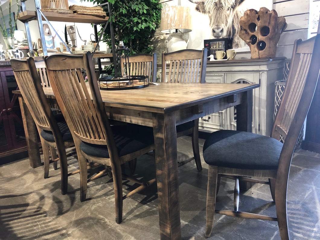 Canadel Champlain 7 Piece Dining Set