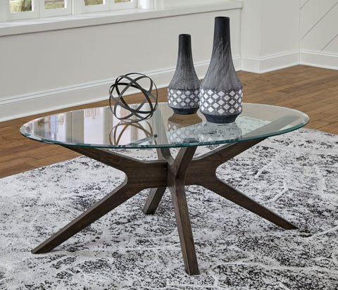 Zannory Oval Cocktail Table