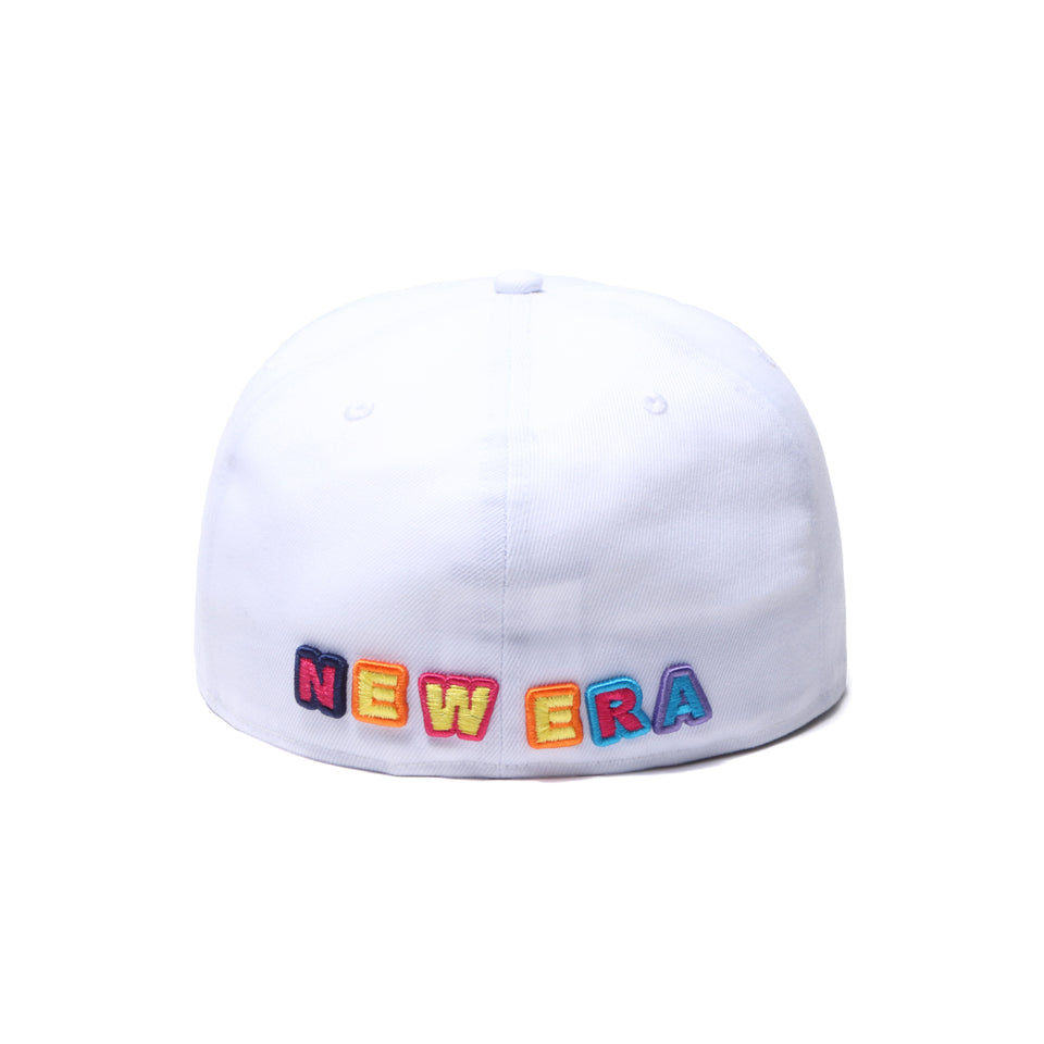 59FIFTY DEE AND RICKY マルチロゴ ホワイト