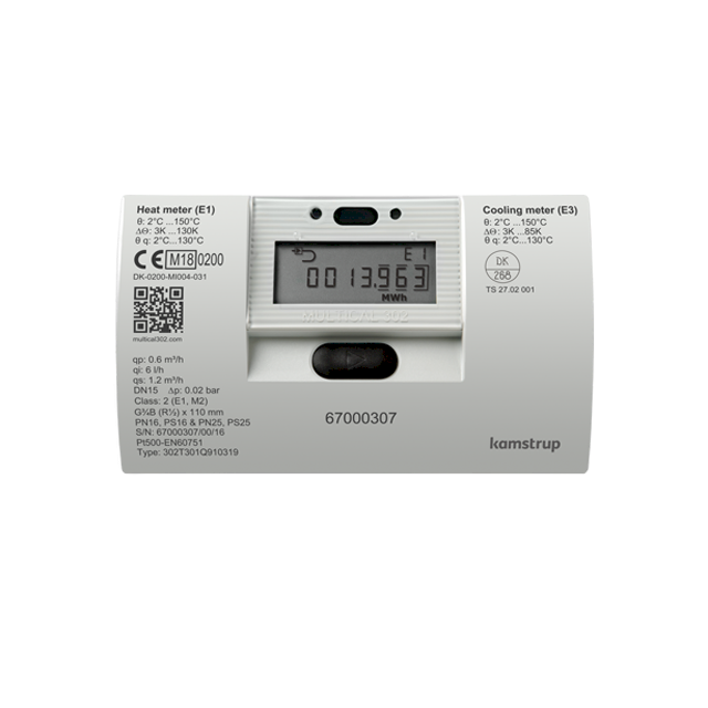 Kamstrup Multical 302 Heat Meter | Stockshed Limited