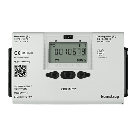 Kamstrup Multical 603 Heat Meter. DN125, qp 100.0 m3/hr