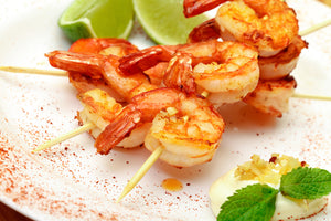 King Prawns Peeled & Deviened Block