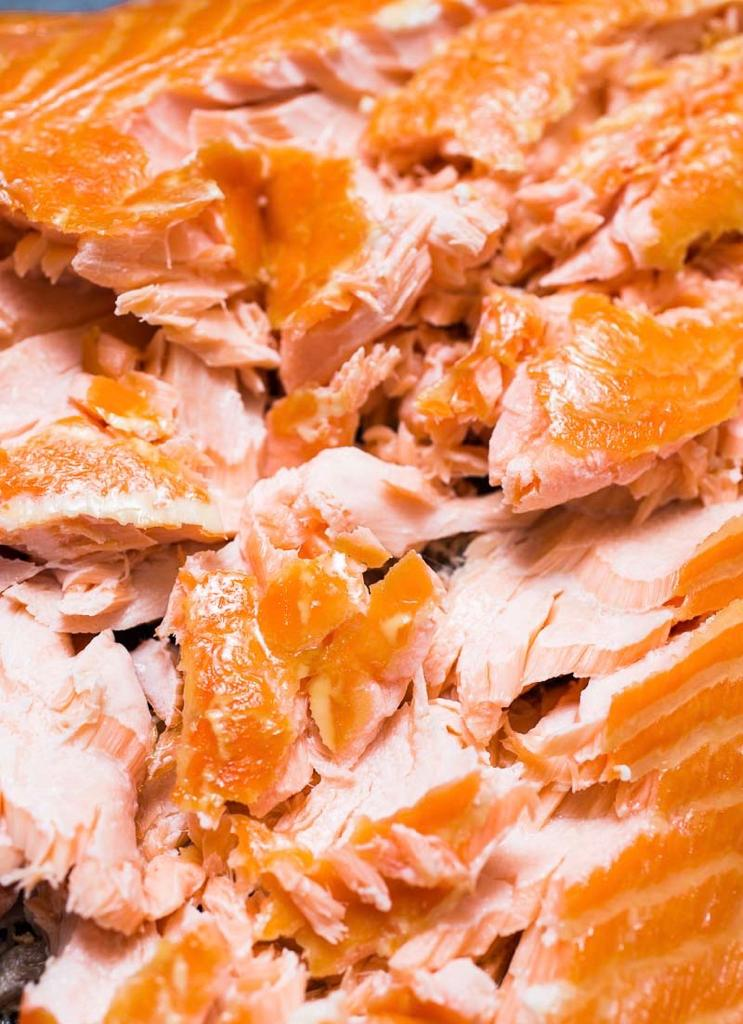 Hot Smoked Salmon Sides