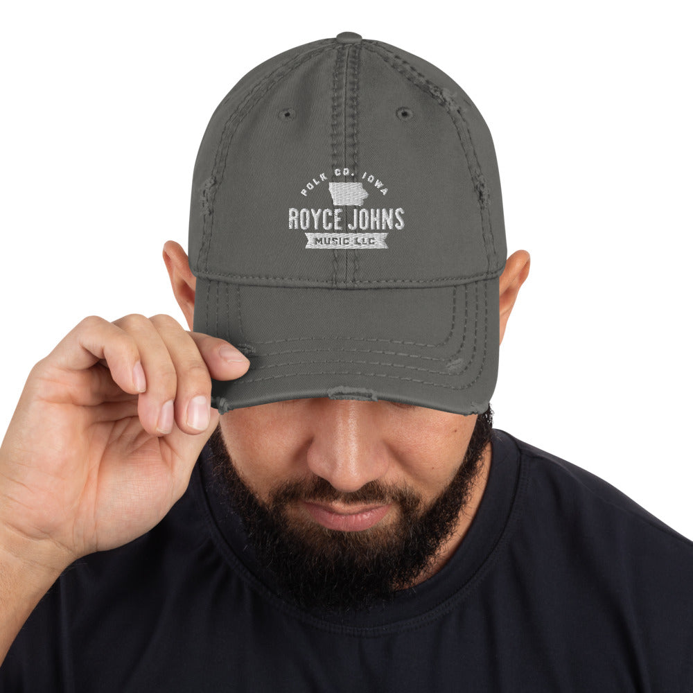 Royce Johns Polk County Distressed Dad Hat