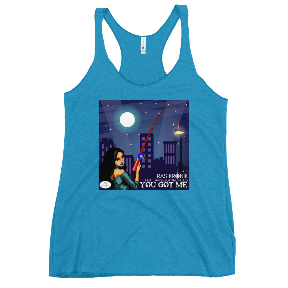 Ras Kronik 'You Got Me' Women's Racerback Tank