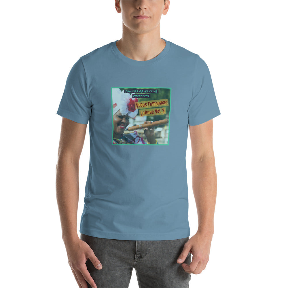 Sounds Of Havana Voces Femeninas Short-Sleeve Unisex T-Shirt