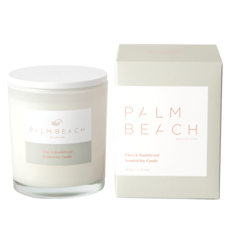 PALM BEACH COLLECTION CLOVE & SANDALWOOD STANDARD CANDLE