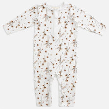Load image into Gallery viewer, MIANN & CO - LONG SLEEVE JUMPSUIT - SNOW BLOSSOM