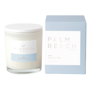 PALM BEACH COLLECTION LINEN STANDARD CANDLE