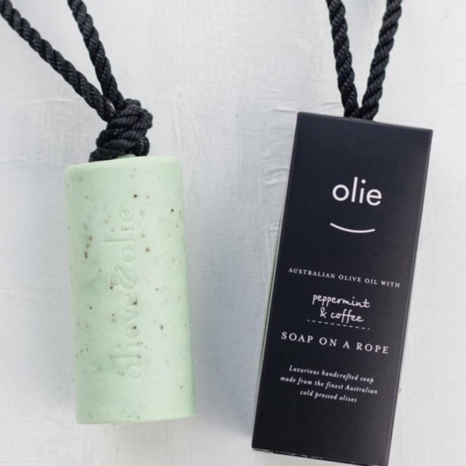 OLIEVE & OLIE - SOAP ON A ROPE