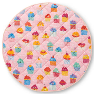 KIP & CO - CUPCAKES QUILTED BABY PLAY MAT