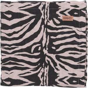 ZEBRA CROSSING LINEN TABLE CLOTH