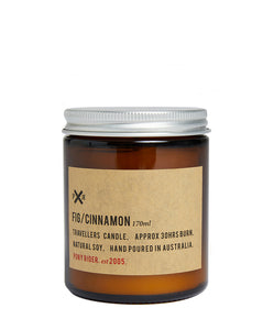 PONY RIDER - FIG & CINNAMON CANDLE