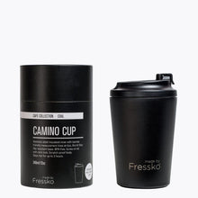 Load image into Gallery viewer, MADE BY FRESSKO - CAMINO REUSABLE COFFEE CUP 340ML/12OZ - COAL