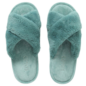 KIP & CO - SLIPPERS - JADE GREEN