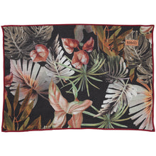 Load image into Gallery viewer, KIP & CO - NIGHT JUNGLE LINEN SIX PIECE PLACEMAT SET