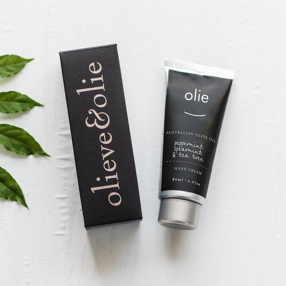OLIEVE & OLIE - PEPPERMINT, SPEARMINT & TEA TREE HAND CREAM