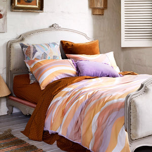KIP & CO - RIPPLE COTTON QUILT COVER