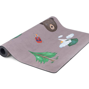 MINDFUL & CO KIDS - PRINTED KIDS YOGA MAT - NATURE PRINT