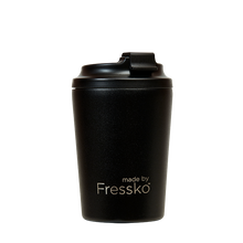 Load image into Gallery viewer, MADE BY FRESSKO - BINO REUSABLE COFFEE CUP 227ML/8OZ - COAL