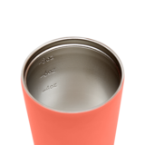 Load image into Gallery viewer, MADE BY FRESSKO - BINO REUSABLE COFFEE CUP 227ML/8OZ - CORAL