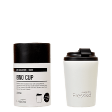 Load image into Gallery viewer, MADE BY FRESSKO - BINO REUSABLE COFFEE CUP 227ML/8OZ - SNOW