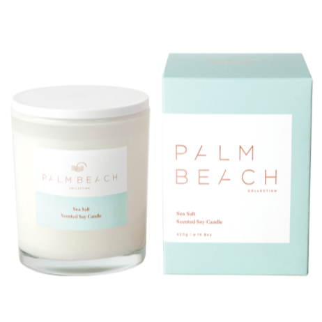 PALM BEACH COLLECTION SEA SALT STANDARD CANDLE