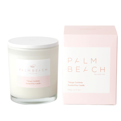 PALM BEACH COLLECTION VINTAGE GARDENIA STANDARD CANDLE