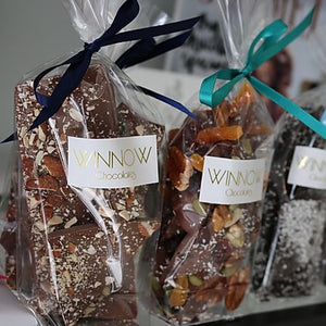 WINNOW CHOCOLATES - SALTED ROASTED ALMOND BRITTLE BAG
