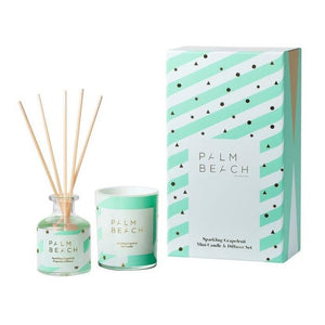 MINI CANDLE & DIFFUSER PACK - SPARKLING GRAPEFRUIT