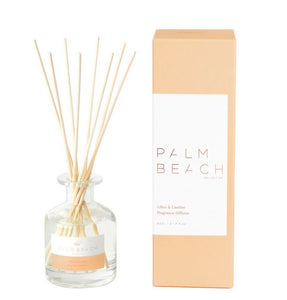 PALM BEACH COLLECTION - MINI FRAGRANCE DIFFUSER - LILIES & LEATHER