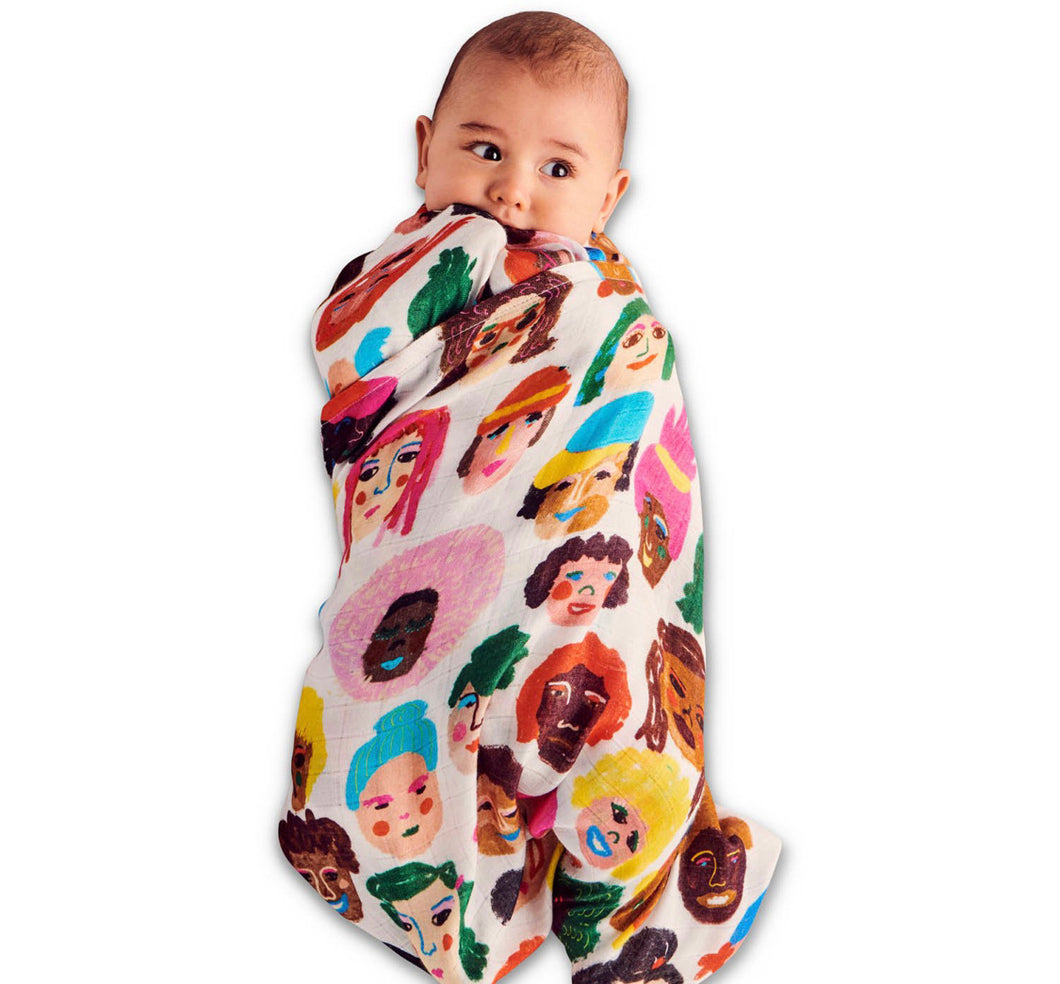 KIP & CO - SISTERS BAMBOO SWADDLE