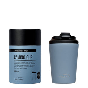 MADE BY FRESSKO - CAMINO REUSABLE COFFEE CUP 340ML/12OZ - RIVER