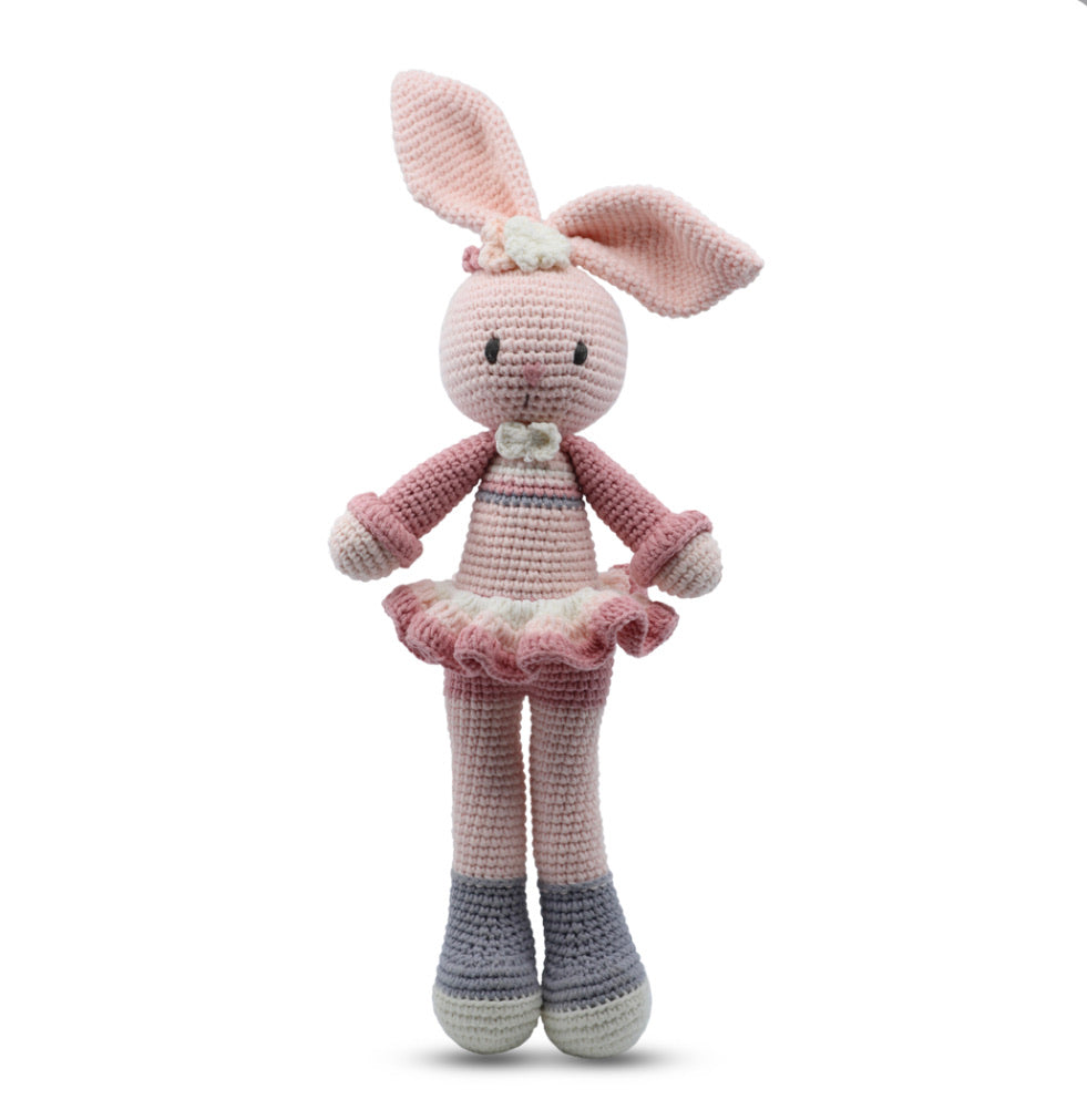 SNUGGLE BUDDIES - SLIM STANDING TOY - BUNNY GIRL