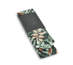 PEGGY & FINN - PROTEA GREEN COTTON TIE