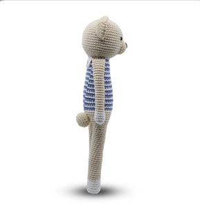 SNUGGLE BUDDIES - SLIM STANDING TOY - TEDDY