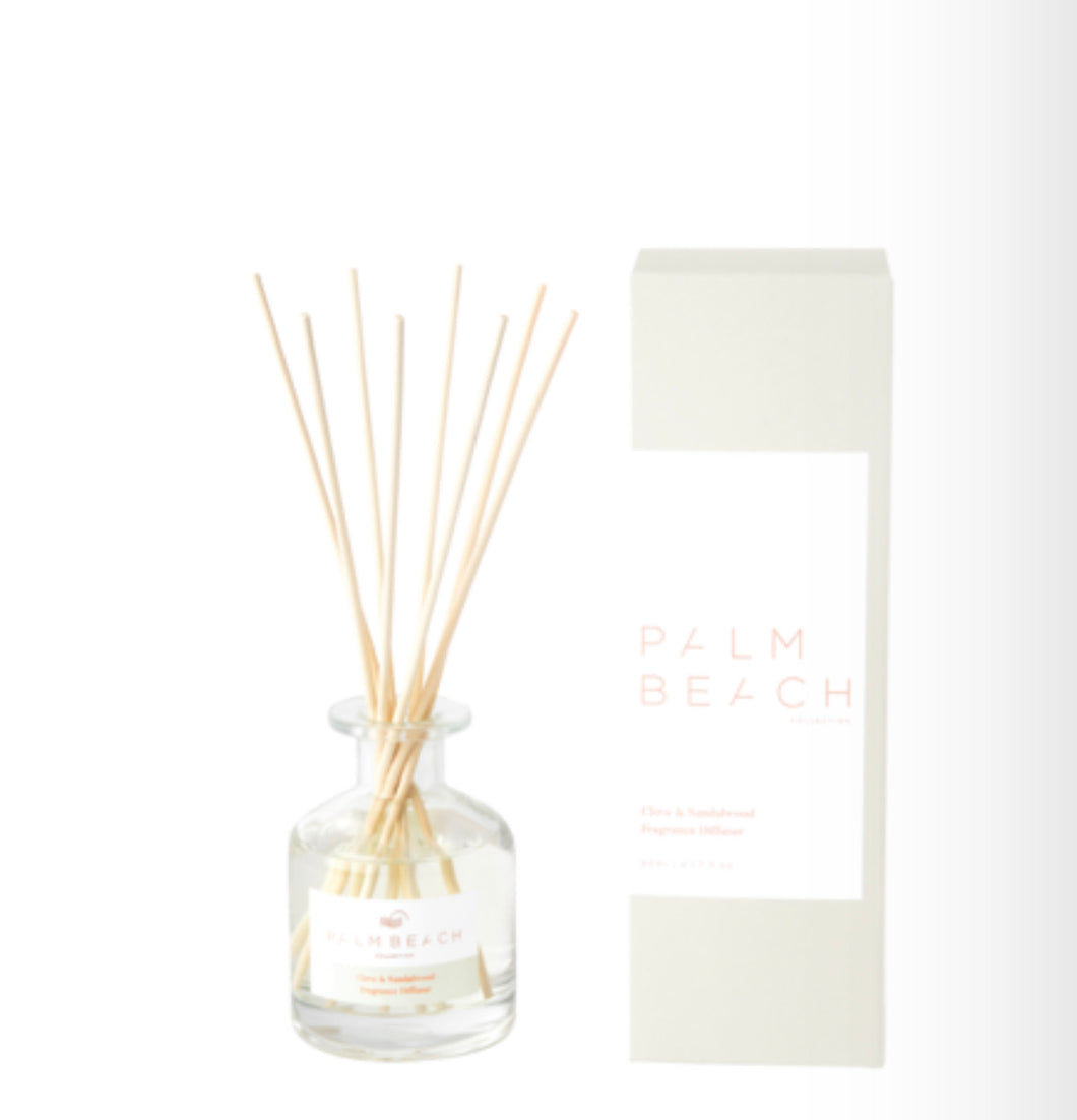 PALM BEACH COLLECTION - MINI FRAGRANCE DIFFUSER - CLOVE & SANDALWOOD