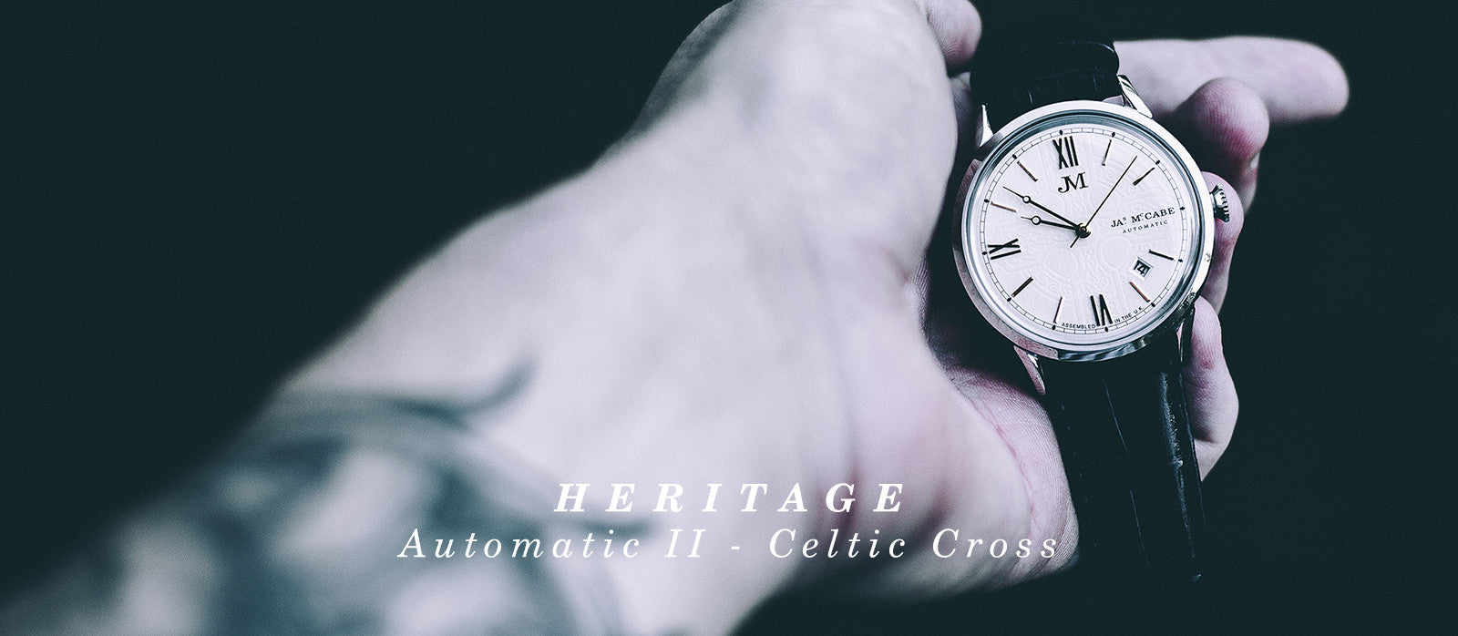 HERITAGE - Automatic II - Celtic Cross JM-1024