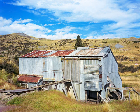 Golden Point Stamping Battery, Macraes Flat, Otago
