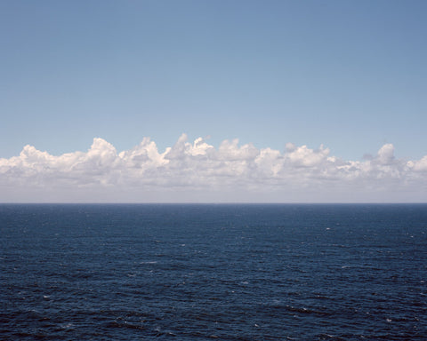 Seascape #7 (Blue with Clouds)