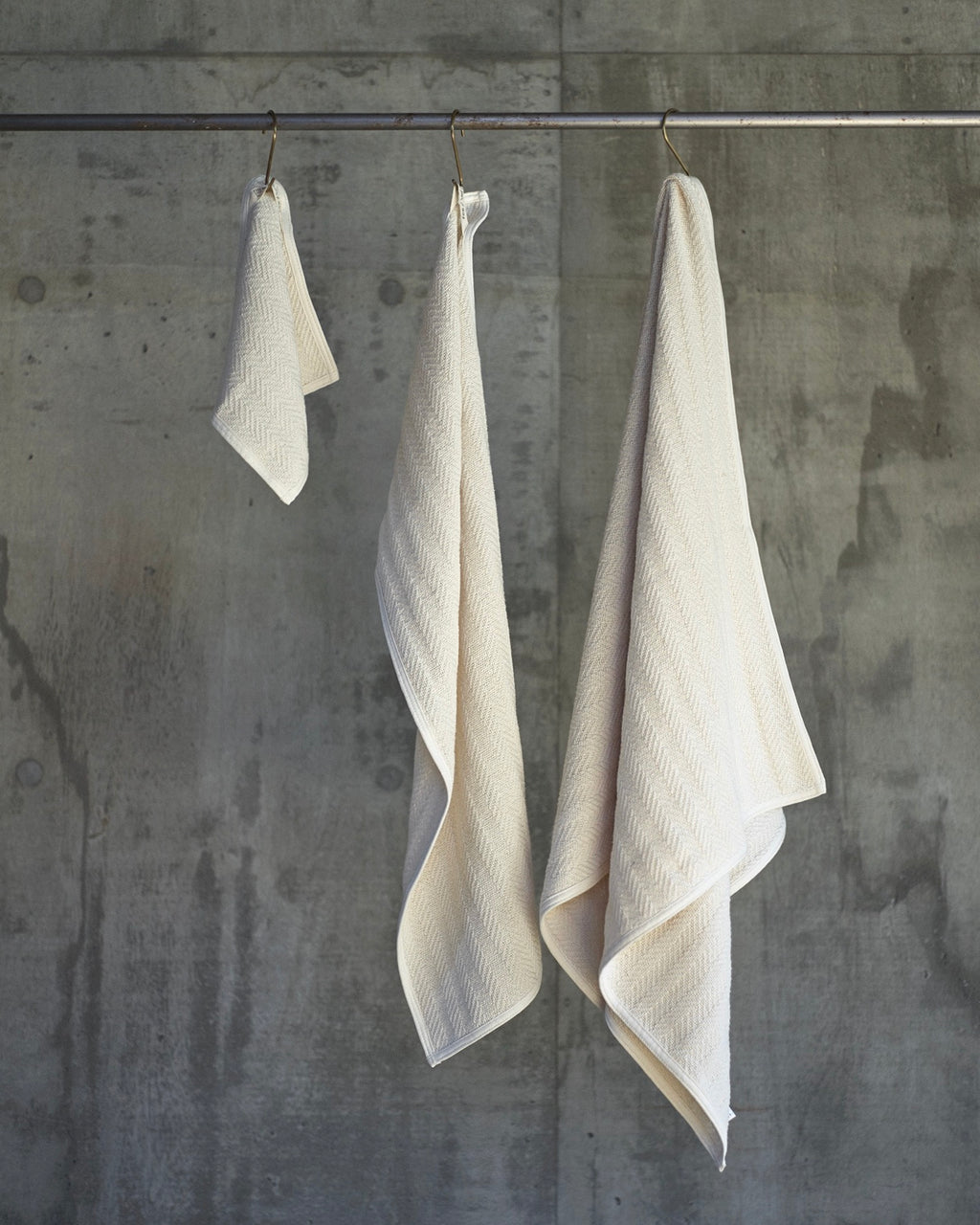 Herringbone Cotton Towels