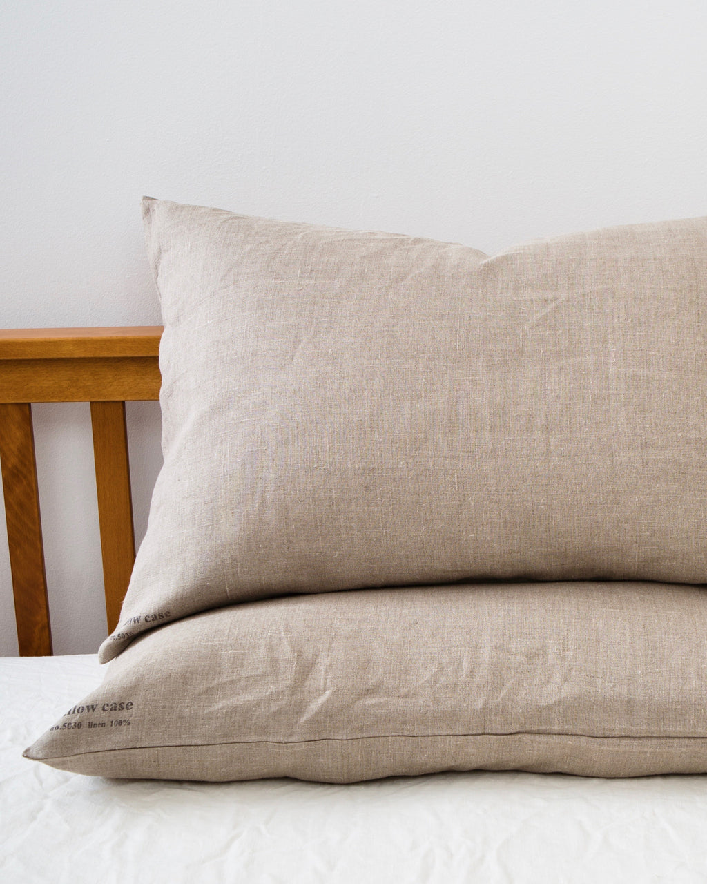 Linen Pillowcases: Natural