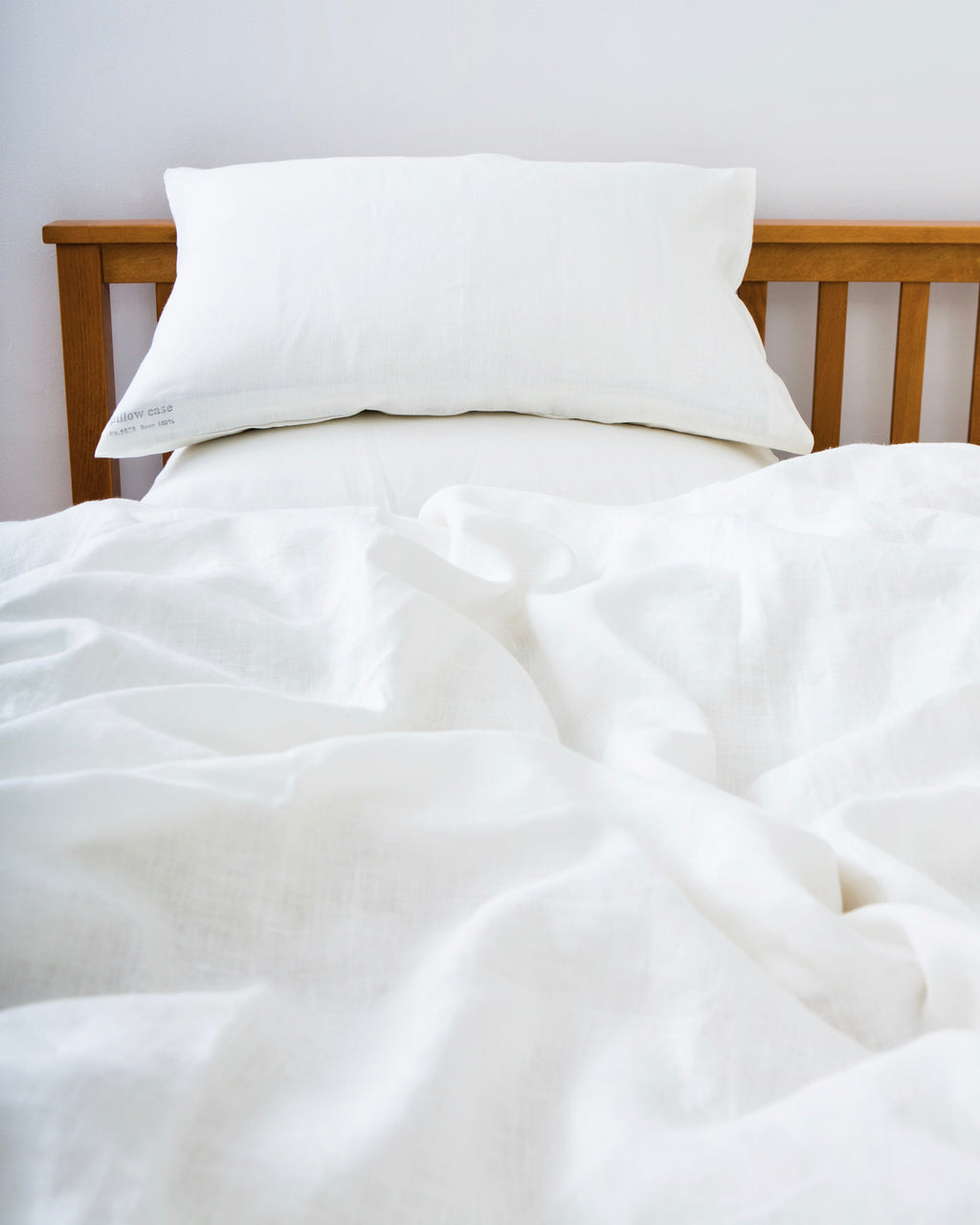 Linen Duvet Cover: White