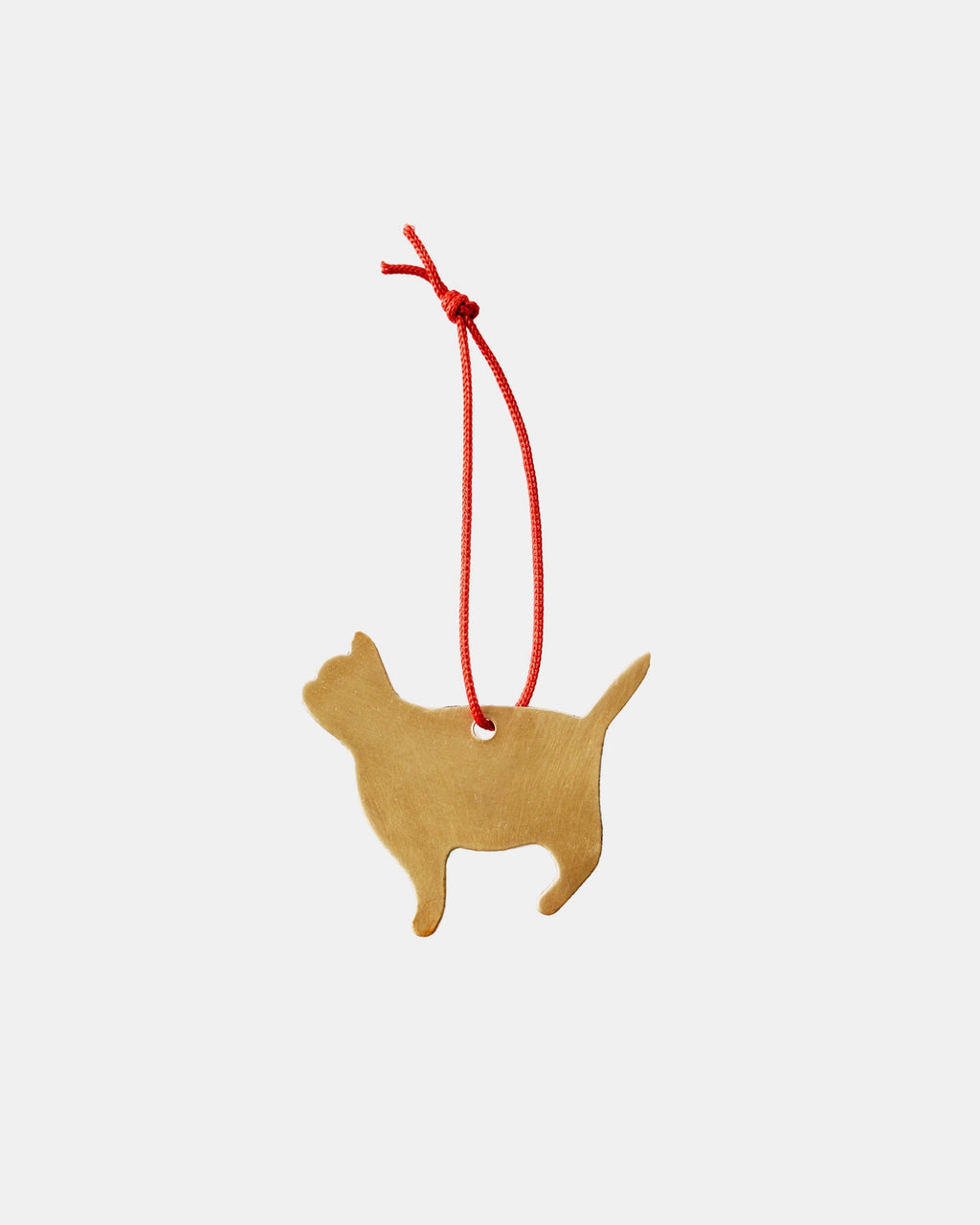 Brass Cat Ornament