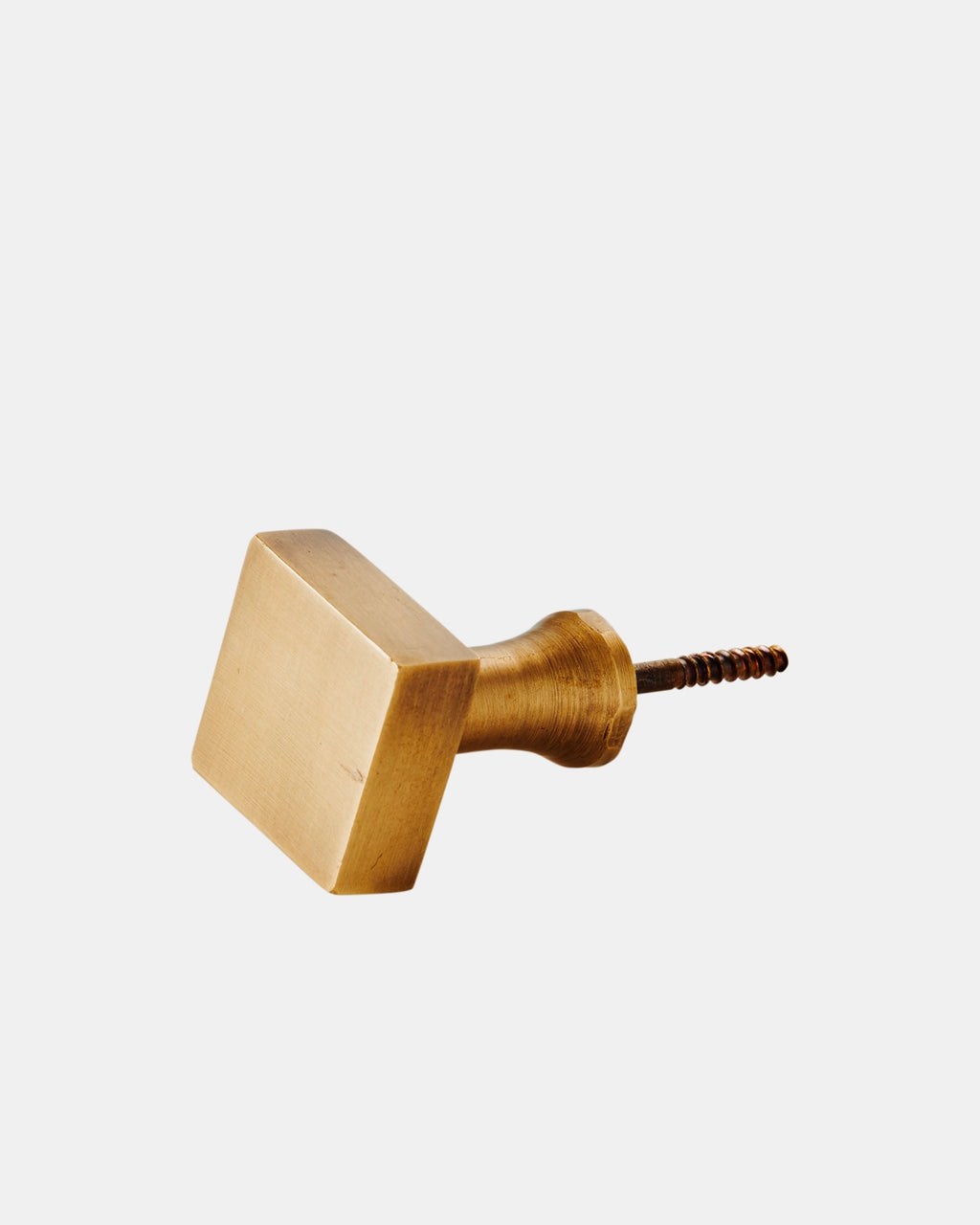 Brass Screw Hook: Square