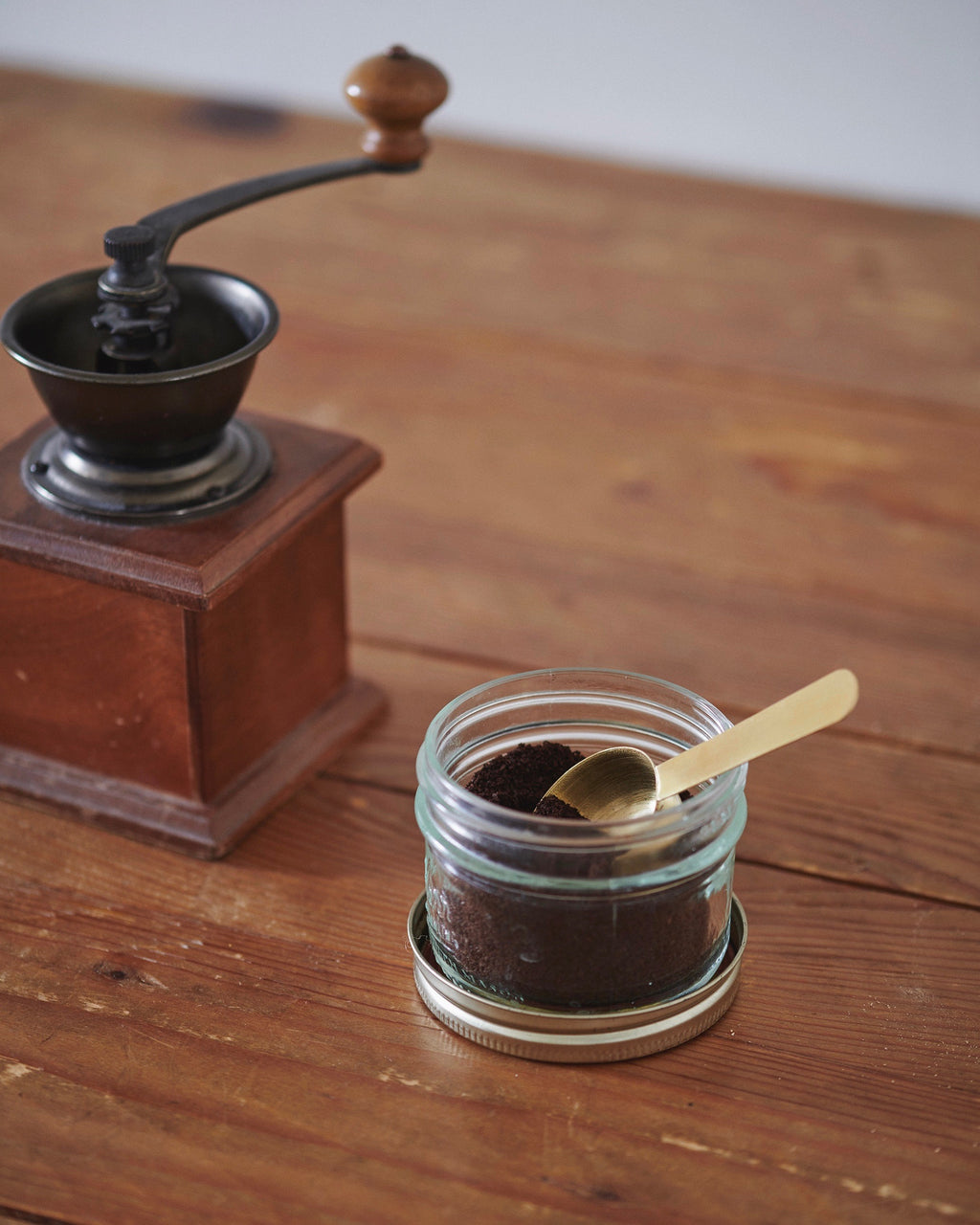 Brass Coffee Scoop