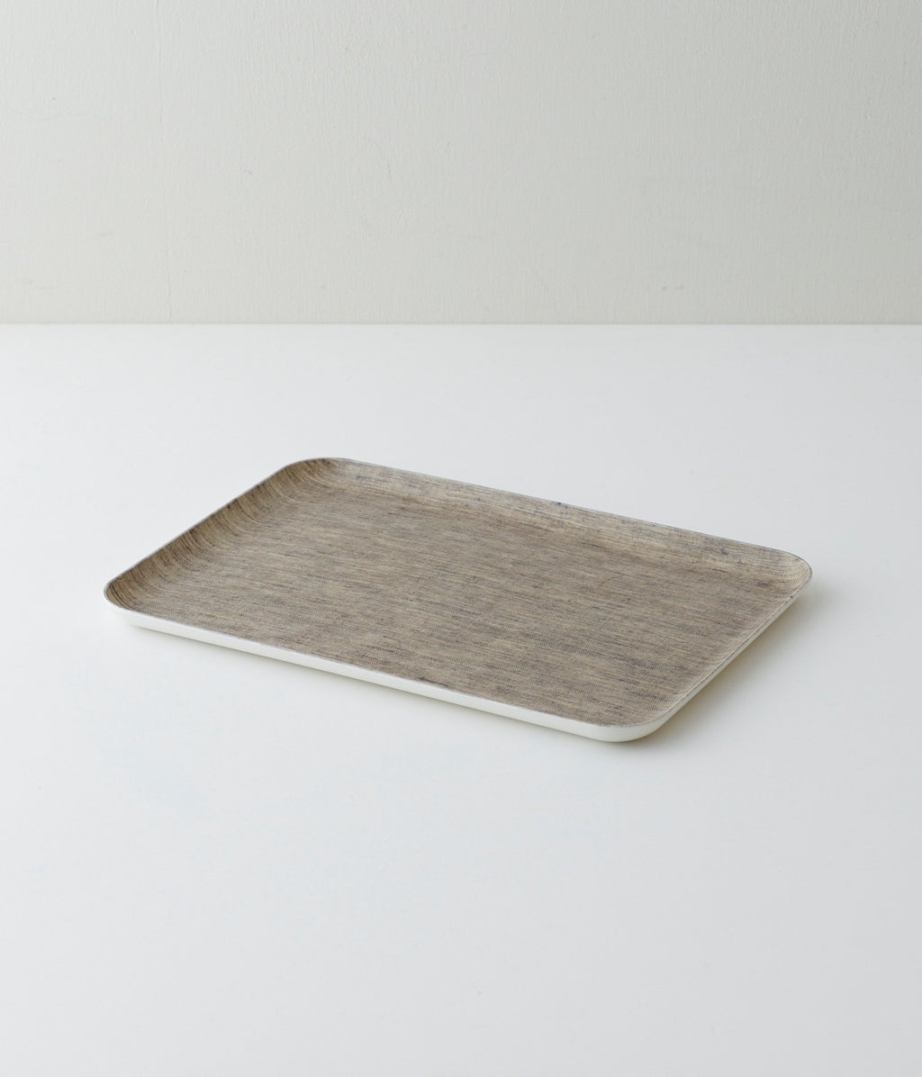 Linen Tray Medium: Natural
