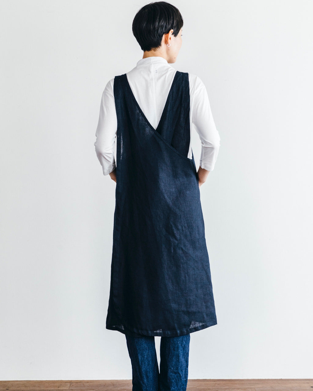Over Apron: Navy
