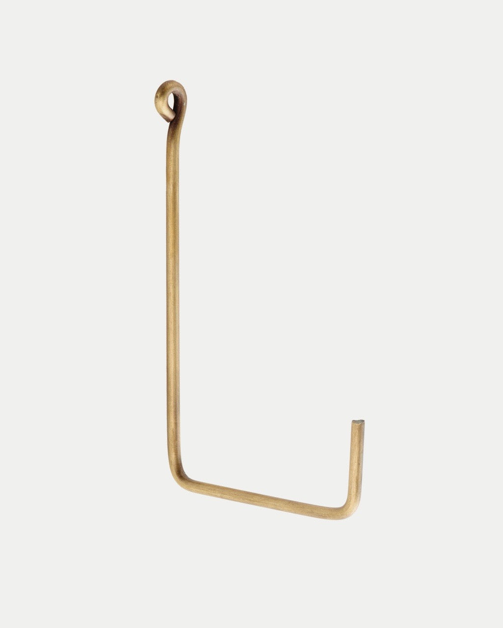 Brass Single Hook: Medium