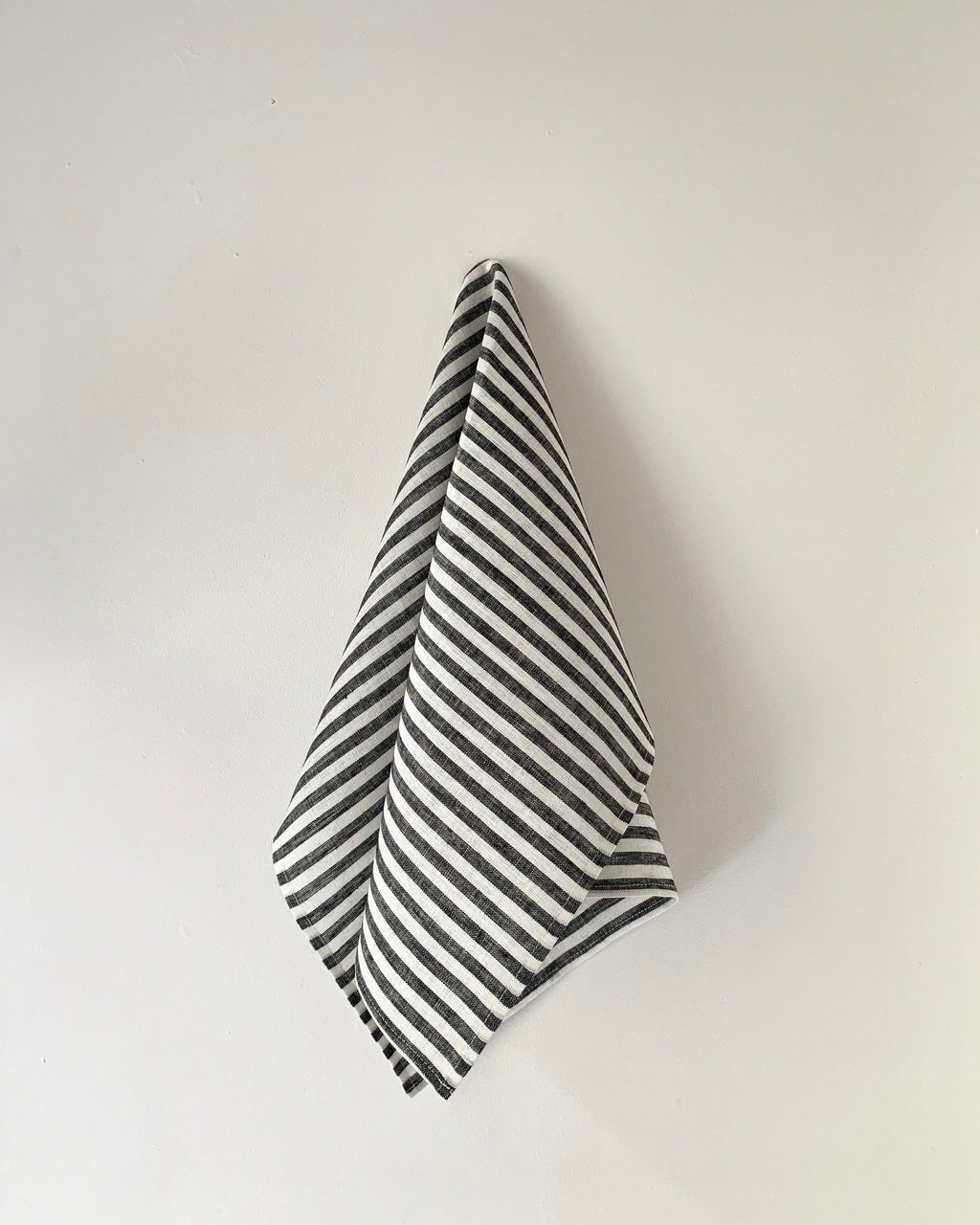 Kitchen Cloth: Black White Stripe